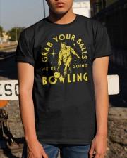 Grab Your Balls We're Going Bowling Shirt Classic T-Shirt apparel-classic-tshirt-lifestyle-29