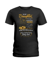 My Daughter Whenever You Feel Overwhelmed Shirt Ladies T-Shirt thumbnail