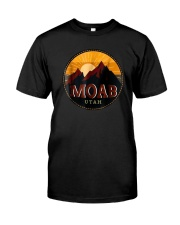 Sunset Mountain Moab Utah Shirt Classic T-Shirt front