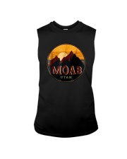 Sunset Mountain Moab Utah Shirt Sleeveless Tee thumbnail
