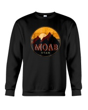 Sunset Mountain Moab Utah Shirt Crewneck Sweatshirt thumbnail
