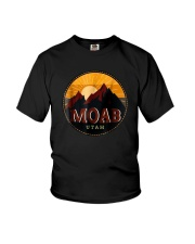 Sunset Mountain Moab Utah Shirt Youth T-Shirt thumbnail
