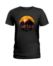 Sunset Mountain Moab Utah Shirt Ladies T-Shirt thumbnail
