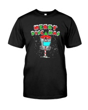 Disc Golf Lover Merry Discmas Shirt Classic T-Shirt front