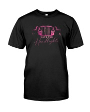 Angel Wing Save The Headlights Shirt Classic T-Shirt front