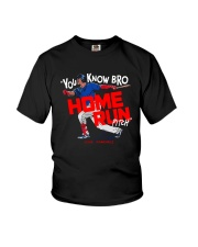 You Know Bro Home Run Pitch Shirt Youth T-Shirt thumbnail