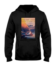 Kayak Dogs And She Lived Happily Ever After Shirt Hooded Sweatshirt thumbnail