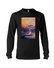 Kayak Dogs And She Lived Happily Ever After Shirt Long Sleeve Tee thumbnail