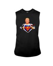 Trump Superman Shirt Sleeveless Tee thumbnail