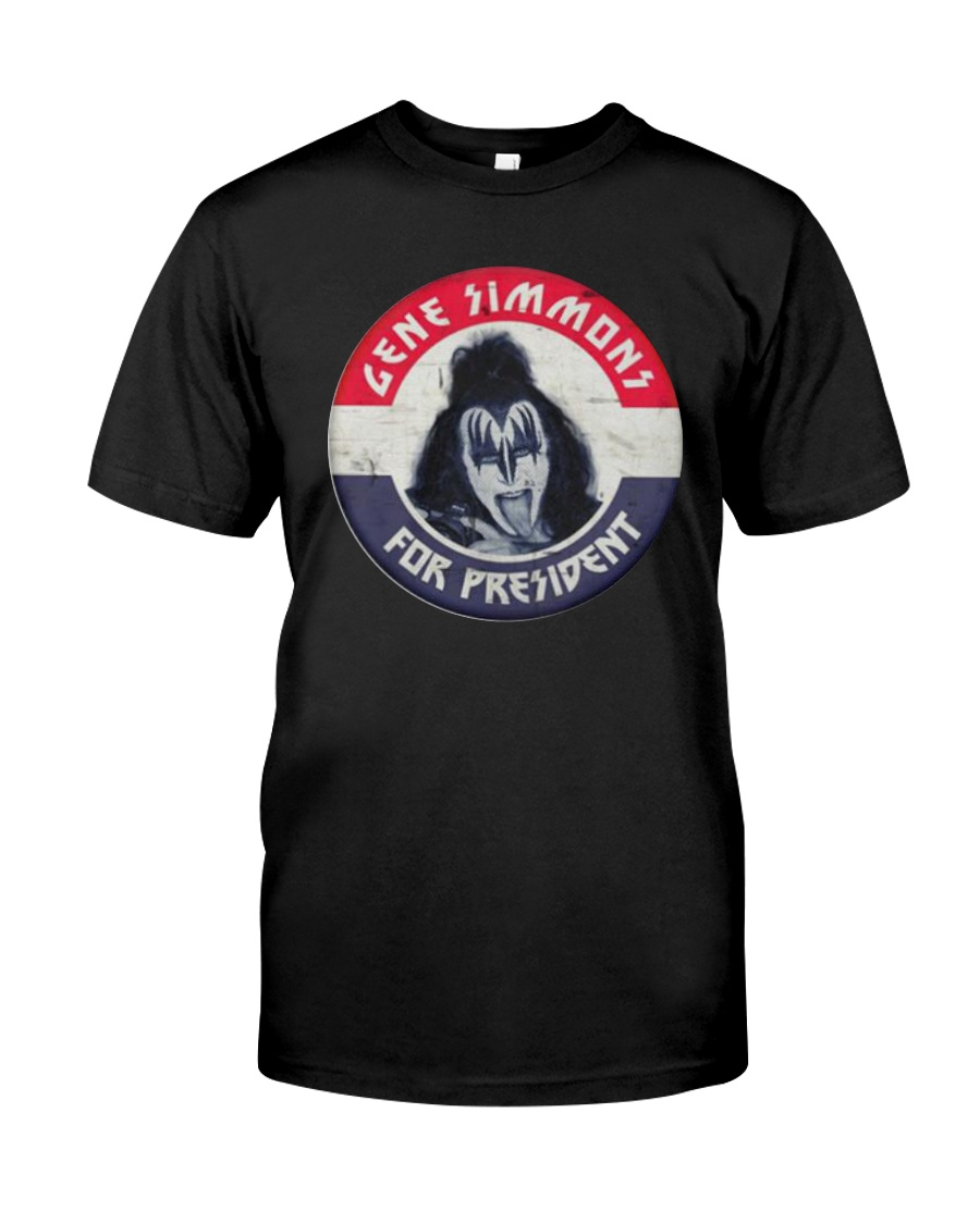 Election Gene Simmons For President Shirt Classic T-Shirt
