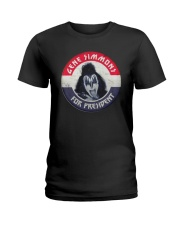 Election Gene Simmons For President Shirt Ladies T-Shirt thumbnail