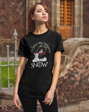 All I Want For Christmas Is Snow Shirt Classic T-Shirt apparel-classic-tshirt-lifestyle-06