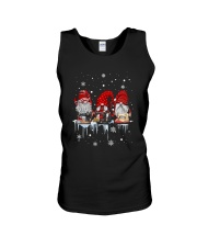 Christmas Quilting Three Gnomes Shirt Unisex Tank thumbnail