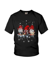 Christmas Quilting Three Gnomes Shirt Youth T-Shirt thumbnail