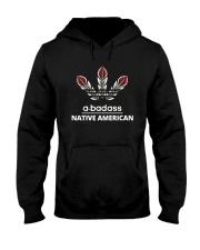 A Badass Native American Shirt Hooded Sweatshirt thumbnail