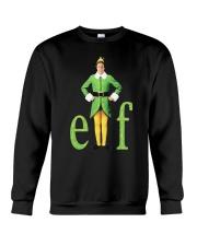 Merry Christmas Elf Shirt Crewneck Sweatshirt thumbnail