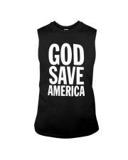 Kanye West God Save America T Shirt Sleeveless Tee thumbnail