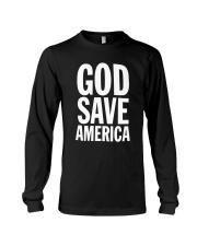 Kanye West God Save America T Shirt Long Sleeve Tee thumbnail
