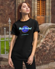 Most Hated Cafe Los Angeles Shirt Classic T-Shirt apparel-classic-tshirt-lifestyle-06