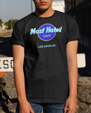 Most Hated Cafe Los Angeles Shirt Classic T-Shirt apparel-classic-tshirt-lifestyle-29