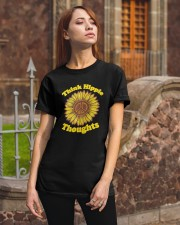 Sunflower Think Hippie Thoughts Shirt Classic T-Shirt apparel-classic-tshirt-lifestyle-06