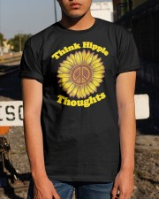 Sunflower Think Hippie Thoughts Shirt Classic T-Shirt apparel-classic-tshirt-lifestyle-29