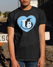 Stingray Love Tampa Bay Heart Tb Shirt Classic T-Shirt apparel-classic-tshirt-lifestyle-29