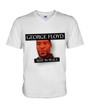 George Floyd rip V-Neck T-Shirt thumbnail