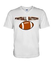 FOOTBALL MATTERS V-Neck T-Shirt thumbnail