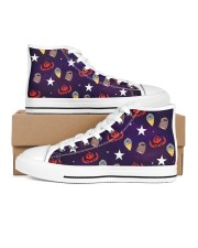 All The Lights In The Sky Are Stars Men's High Top White Shoes tile