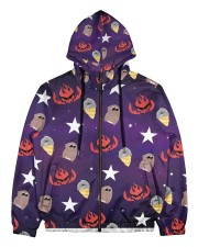 All The Lights In The Sky Are Stars Men's All Over Print Full Zip Hoodie tile