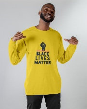 black lives matter Long Sleeve Tee apparel-long-sleeve-tee-lifestyle-front-12