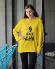 black lives matter Long Sleeve Tee apparel-long-sleeve-tee-lifestyle-front-20