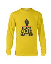 black lives matter Long Sleeve Tee front