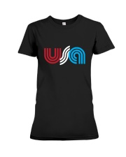 USA Premium Fit Ladies Tee thumbnail