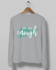 You Are Enough Crewneck Sweatshirt lifestyle-unisex-sweatshirt-front-10