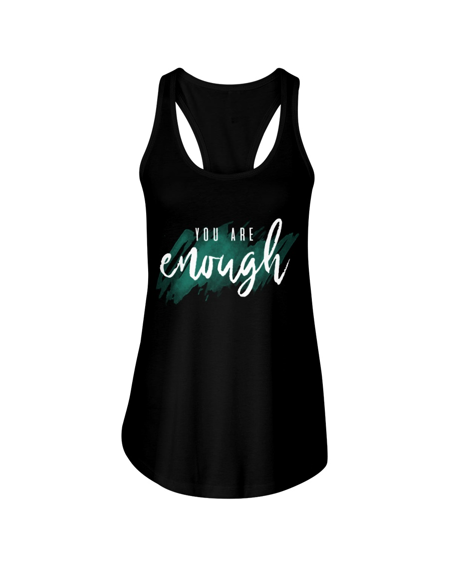 You Are Enough Ladies Flowy Tank
