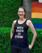 North Dakota Strong Ladies Flowy Tank lifestyle-bellaflowy-tank-front-2