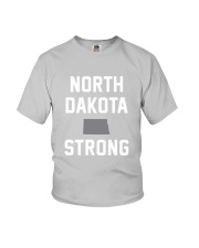 North Dakota Strong Youth T-Shirt front