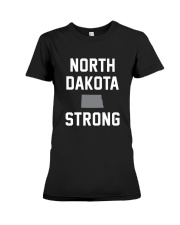 North Dakota Strong Premium Fit Ladies Tee thumbnail