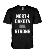 North Dakota Strong V-Neck T-Shirt thumbnail
