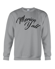 'Merica Y'all Crewneck Sweatshirt tile