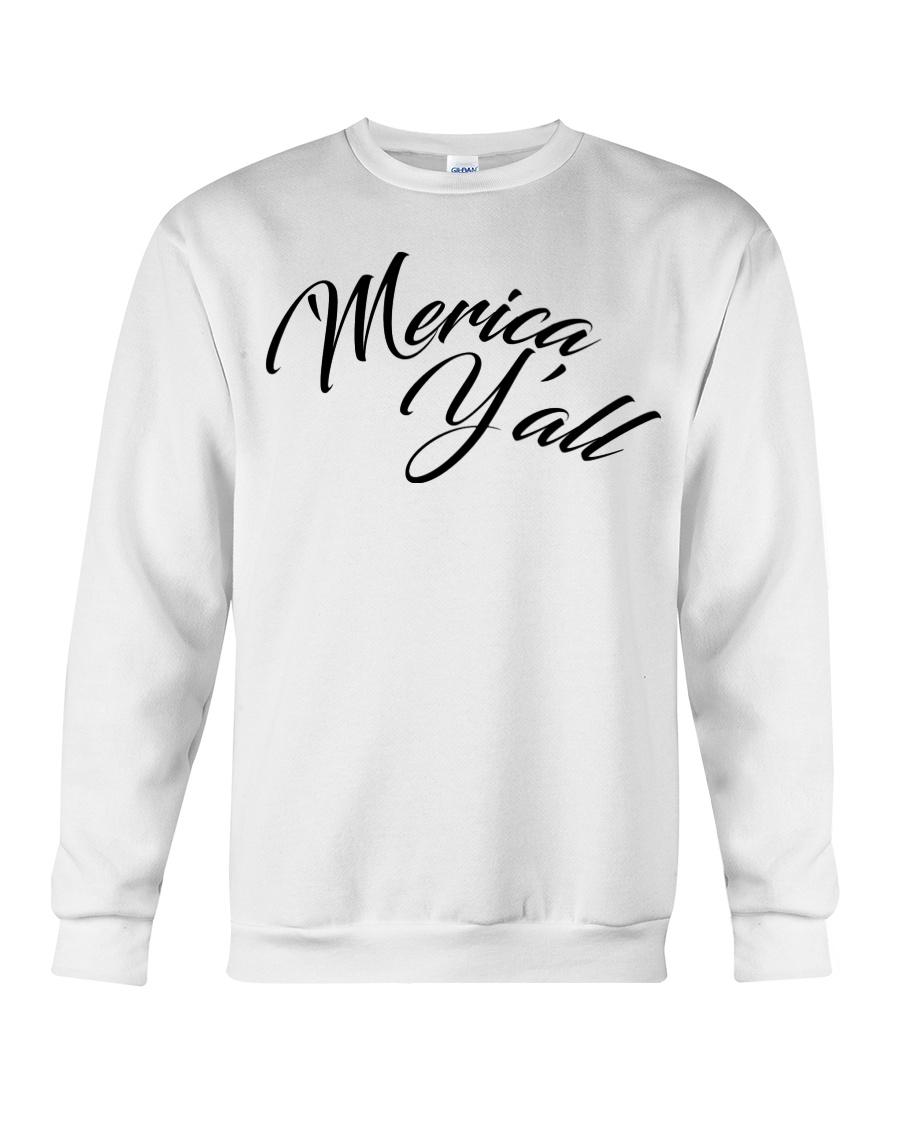 'Merica Y'all Crewneck Sweatshirt