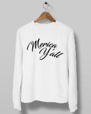 'Merica Y'all Crewneck Sweatshirt lifestyle-unisex-sweatshirt-front-10