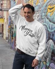'Merica Y'all Crewneck Sweatshirt lifestyle-unisex-sweatshirt-front-4