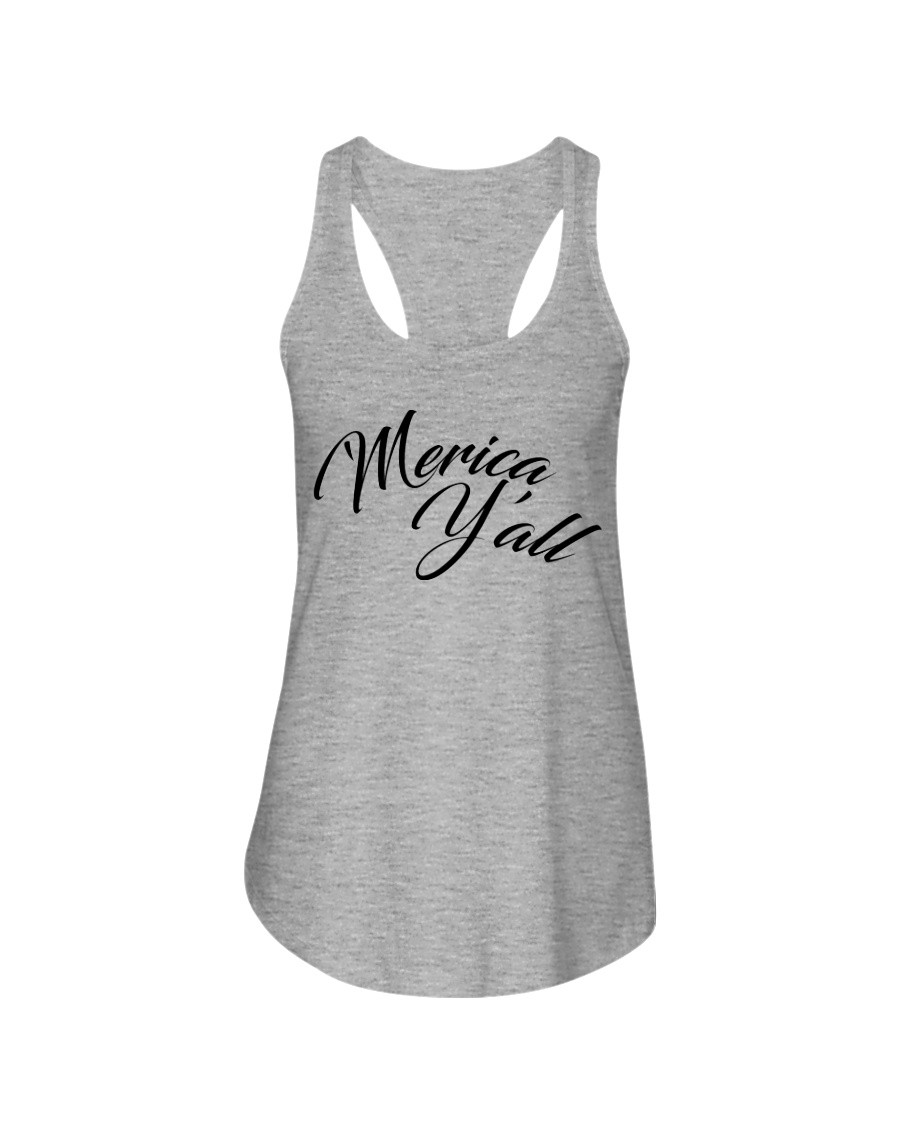 'Merica Y'all Ladies Flowy Tank