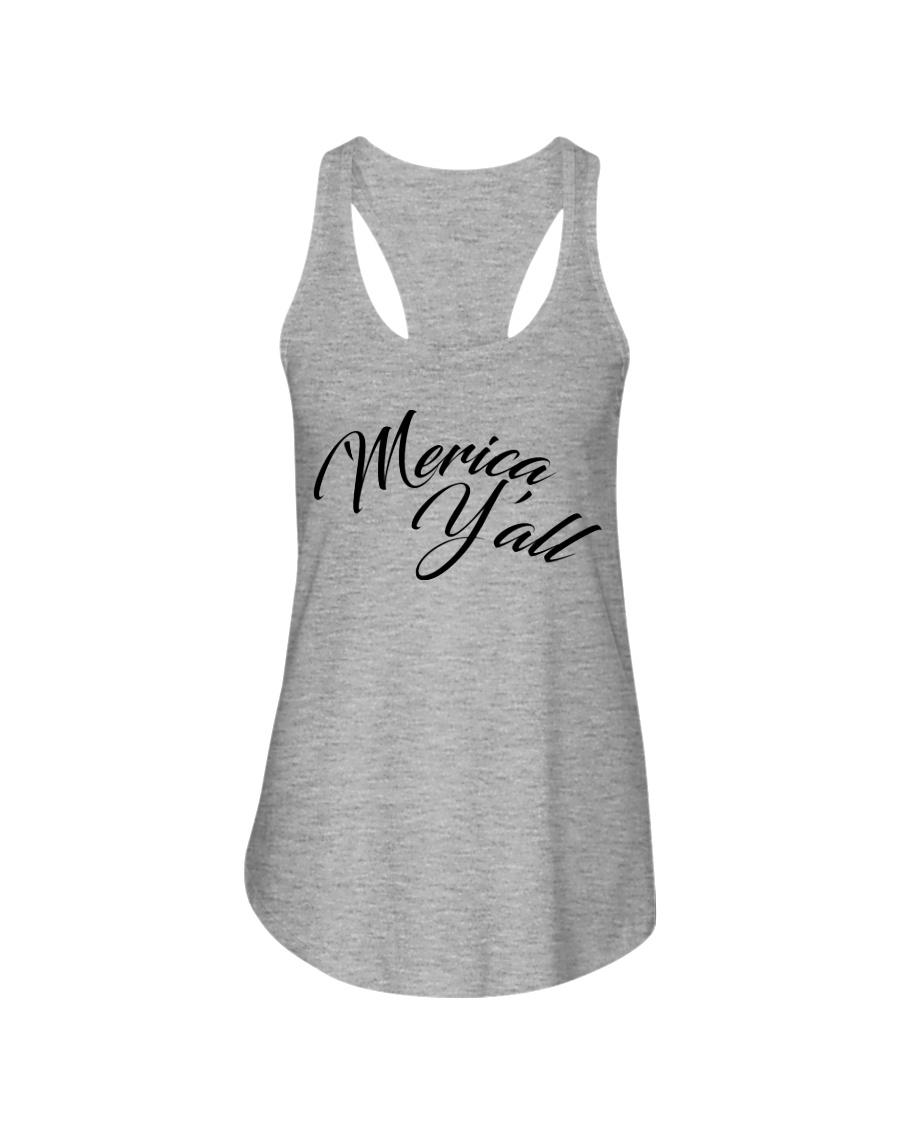 'Merica Y'all Ladies Flowy Tank
