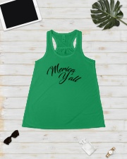 'Merica Y'all Ladies Flowy Tank lifestyle-bellaflowy-tank-front-5