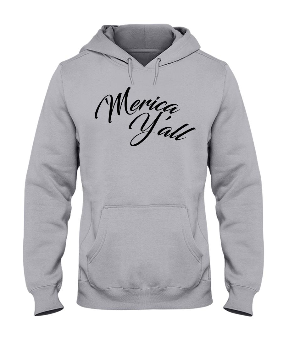 'Merica Y'all Hooded Sweatshirt
