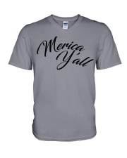 'Merica Y'all V-Neck T-Shirt thumbnail